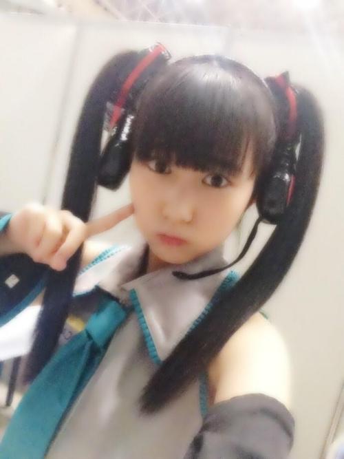 【HKT48】田中美久(12) 初音ミクのコスプレ姿を公開 「めっちゃかわいい」「天使じゃねーかwww」 ファンから絶賛の声が殺到