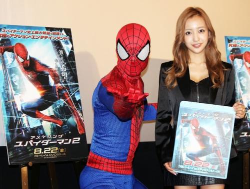 ともちんこと板野友美(23) 「英語を勉強中。ハリウッド映画に出たい。スパイダーマンの英語がちょっと分かってきた」