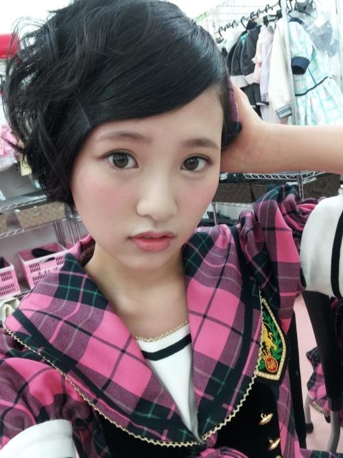 HKT48兒玉遥さん(17) 鼻が整形すぎると話題にwwwwwwwwwwwwww