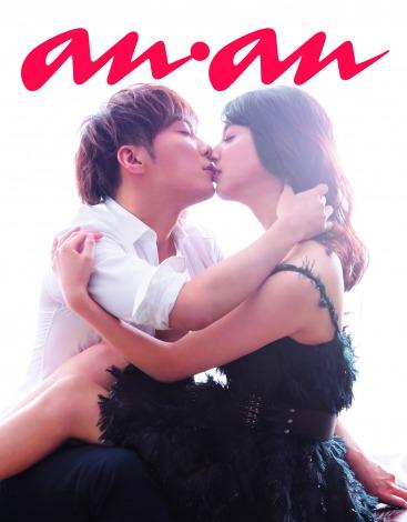 初共演で…成宮寛貴が佐々木希の唇を奪う熱いキスショットを披露!