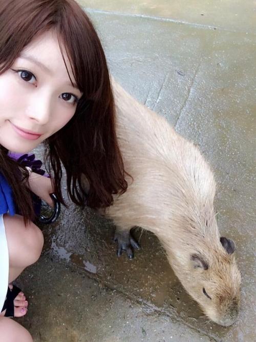 ポスト佐々木希の呼び声高いグラビアアイドル橋本真帆(21)が可愛すぎると話題