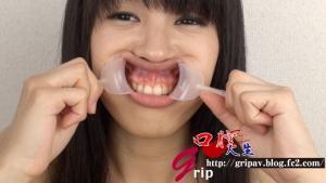口腔粘膜剥き出し絶頂!開口狂器/倉科もえ