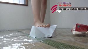 W踏み踏みM男クラッシュ/棗レイラ女王様&高沢沙耶