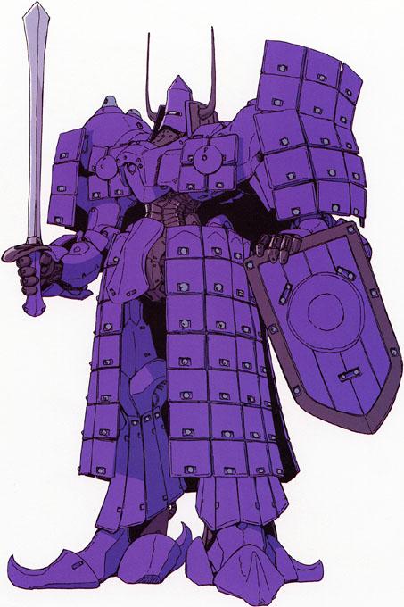 青騎士(ブラウキャバリー)紫苑鋼