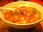 トマト入り牛肉麺