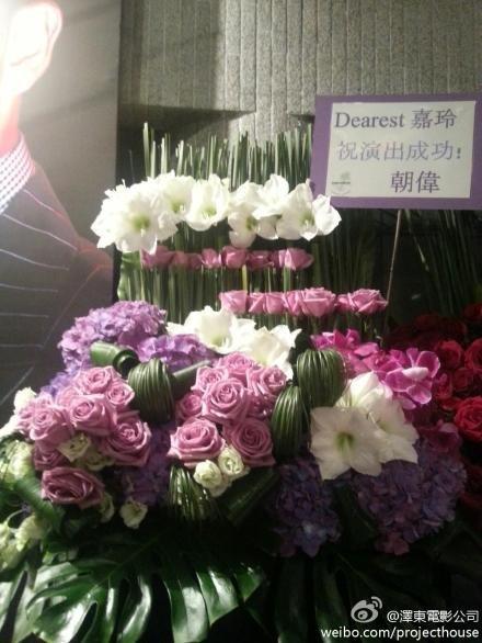 トニーさんからの花束