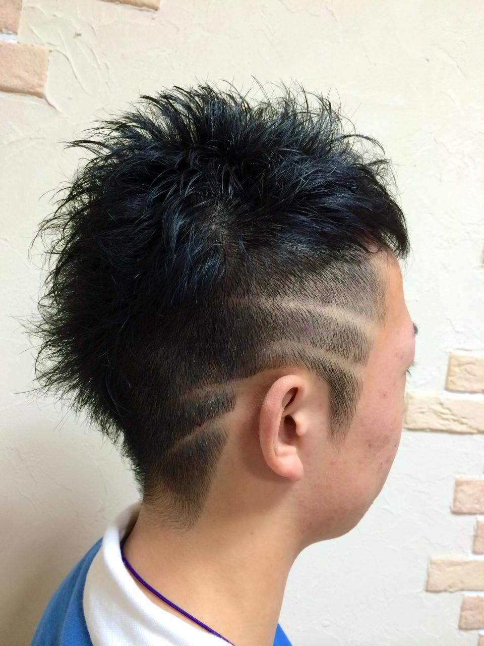 バリアート ライン イベントスタイル パーティースタイル HAIR's ma't 理・美容室(ヘアーズ マッツ)