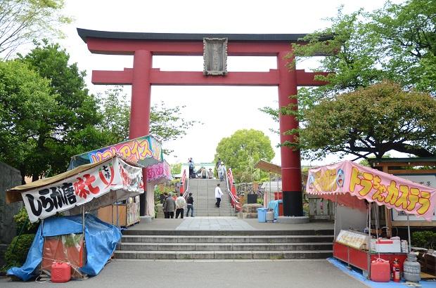 亀戸天神社 20140429 (3)