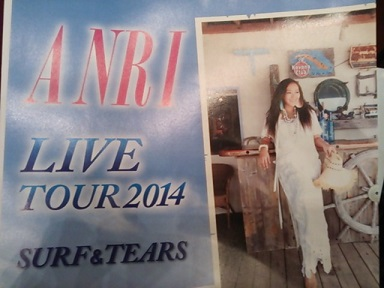 杏里2014tour