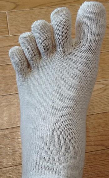 おすすめの冷え取り靴下