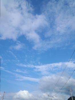 20140607久しぶりの青空~♪
