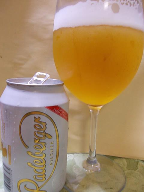 Beer Radeberger 20140723