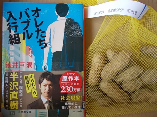Book and peanut 20140322