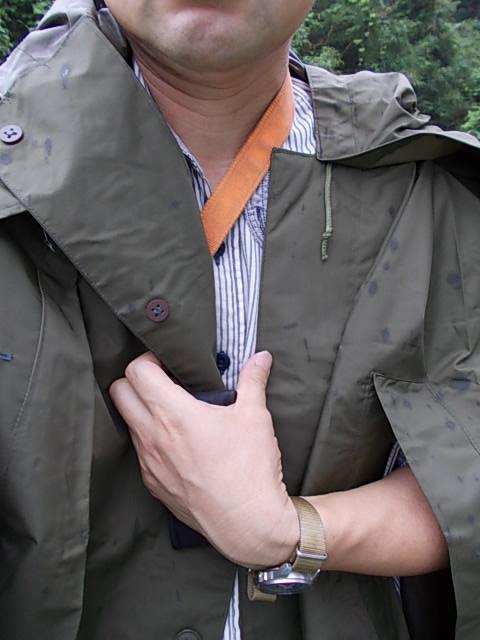 Rain poncho Czech Army's 20140610