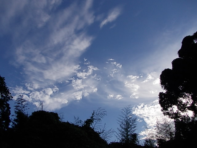 Sky from the farm 20140707