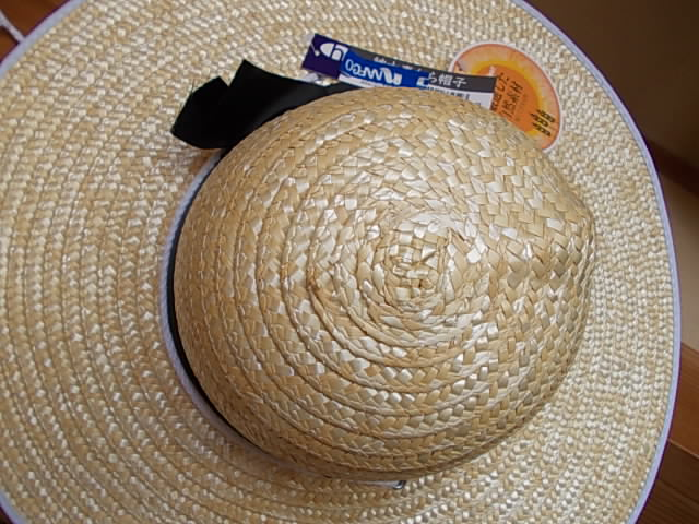Straw hat 20140715
