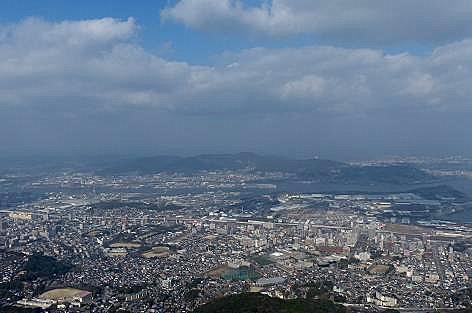 山頂からの光景♪