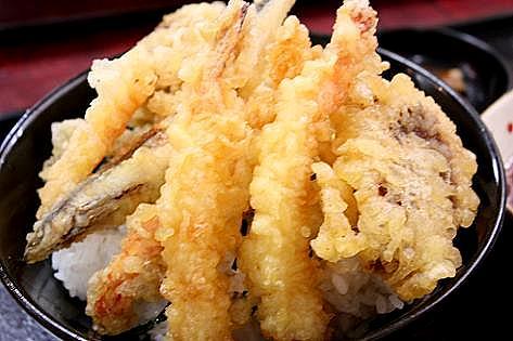 海鮮天丼♪