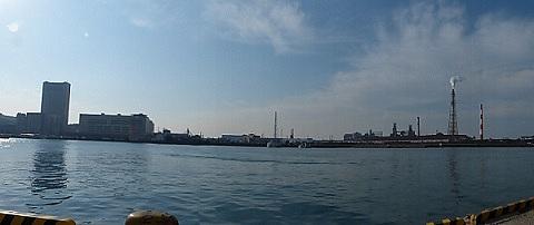 小倉の港から♪