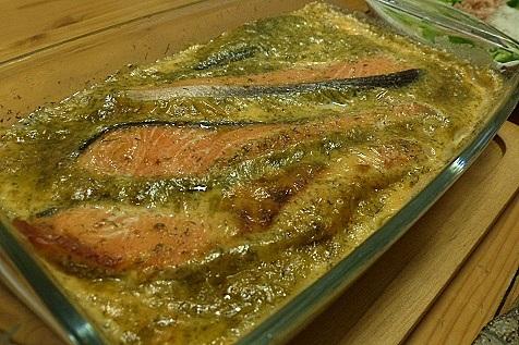 鮭のオーブン焼き♪