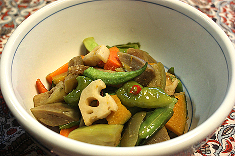 野菜の揚げ浸し♪