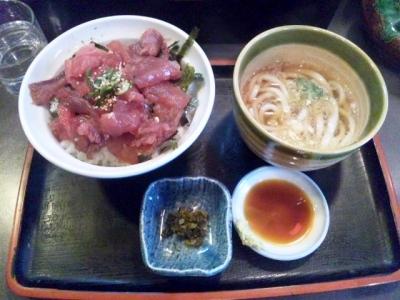 140312一休マグロ漬け丼大盛り600円