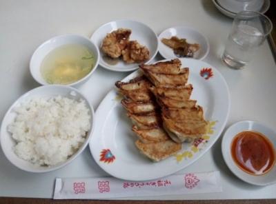 140325珉珉三条大橋店珉珉定食500円