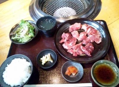 140327あじ蔵肉定食850円