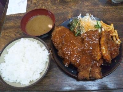140422ハイライト御池店ジャンボチキンカツ定食600円