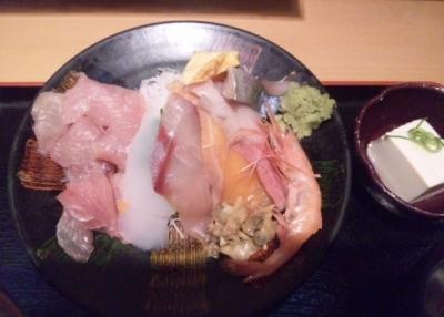 140425えびす大黒元町店大盛刺身定食700円刺身たっぷり