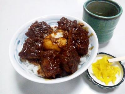 140515元祖味噌カツ丼の店叶味噌カツ丼が1200円