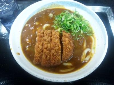 140620千万喜淀屋橋店カツカレーうどん500円