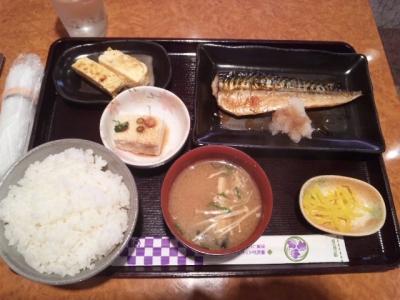 140717Koto・Koto日替わりのランチサバ塩焼き650円