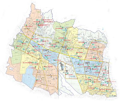 武蔵村山市地図