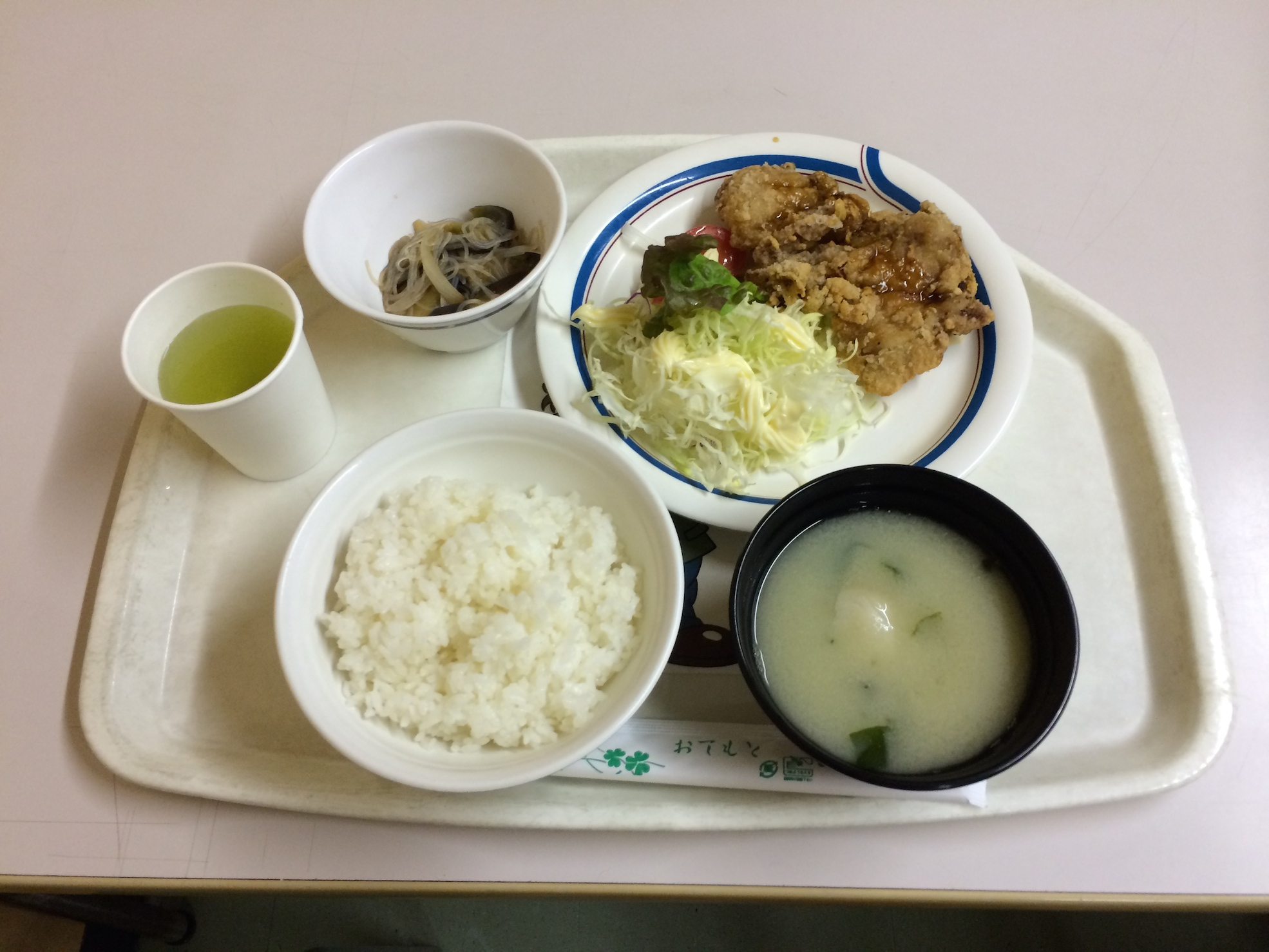 竜田揚げ定食