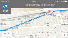 駅の階段や改札の場所を考慮してないので藤田電機前の方が近く見えるという可能性を考えたが、そうでもなさそうだなぁ。