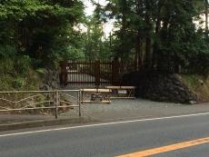 こっちが本来の入口らしい。旧吉田邸。