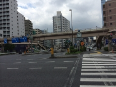 なんか謎の歩道橋。