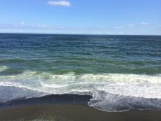 今日も沖の方に雲が。 #海 #海photo