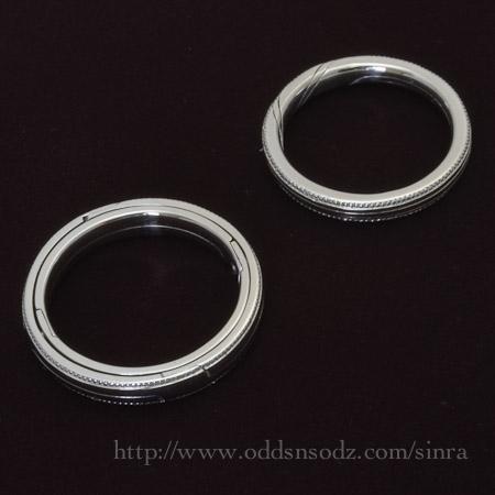 天球儀のリング ギメルリング3連