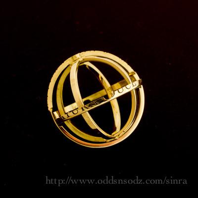 天球儀のリング・COSMOS