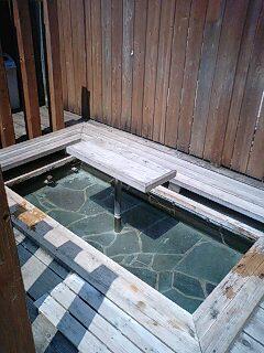 土湯の足湯 (2)