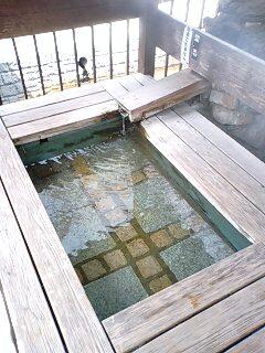 土湯の足湯 (3)