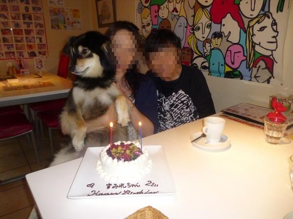 2歳のお誕生日会