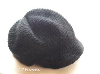 ニット帽キャスケット1