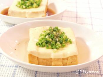 ダシ×オイル(厚揚げチーズ)1