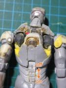 カプセルQアイアンマン(電池ボックス+スイッチ)