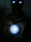 カプセルQアイアンマン(電飾発光色)