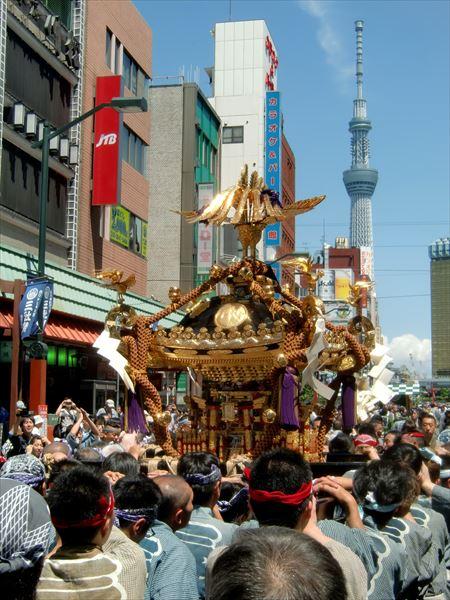 三社祭 2014 浅草寺周辺 ⑤