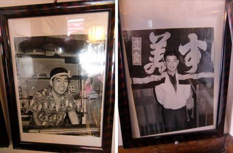 若い頃の古今亭志ん朝と谷幹一も満す美寿司の常連客